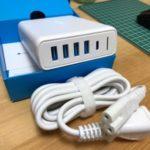 USB充電機器周りを綺麗にするAnker PowerPort I PD - 1 PD & 4 PowerIQ