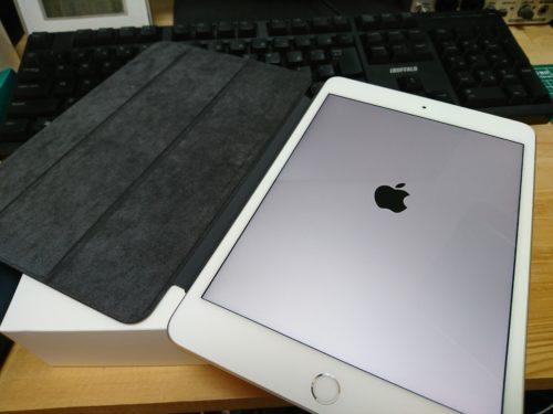 念願の新型ipad mini(第5世代)が到着!!丁度良いサイズ感とヌルサク性能で最高のタブレット端末