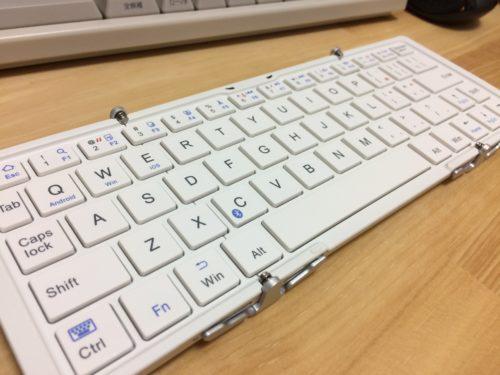Bluetoothキーボード(OWL-BTKB6401)を買ってみた