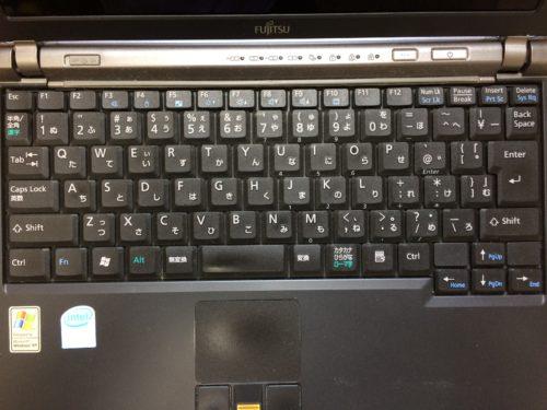 ノートパソコンのキーボード配列には拘りたい