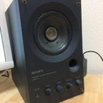 【名機】モニタースピーカー、PC用スピーカー SONY SMS-1P