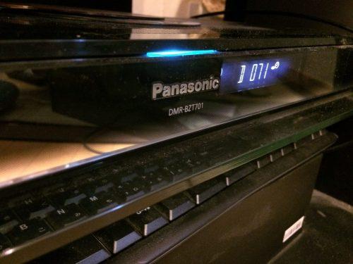 【完全雑談】Panasonic DIGAが再起動を繰り返す場合の対処方法