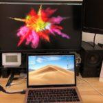MacBookAir2019をマルチディスプレイ 化してみた